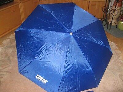 Aggressiv Regenschirm - Schirm - Taschenschirm In Blau 2 StÜck Neu