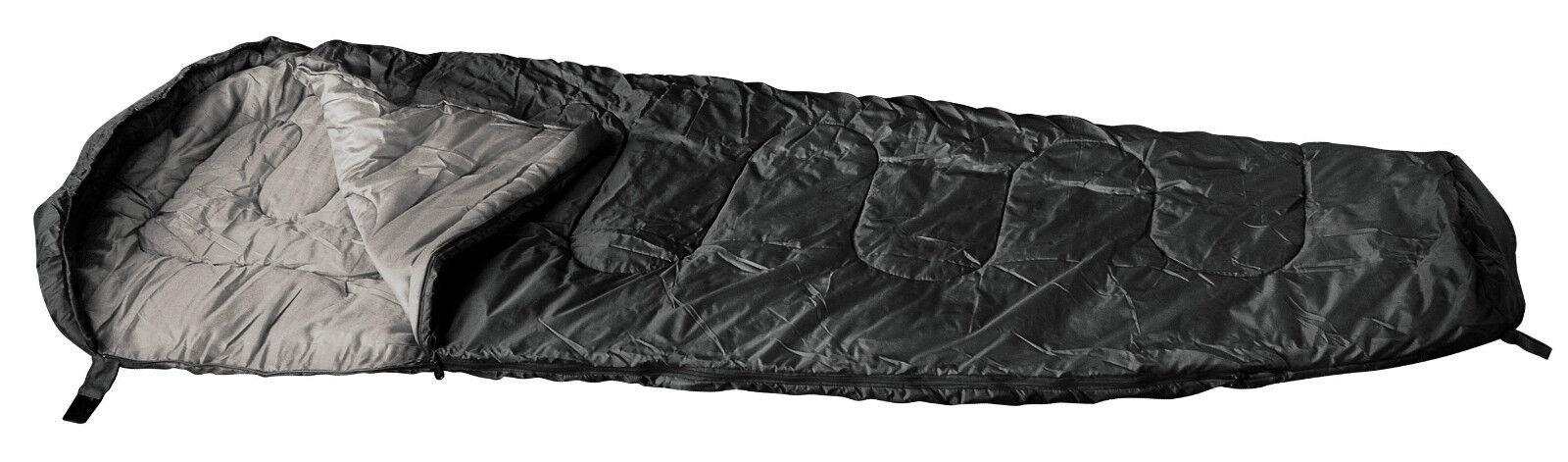 Army Sacco A Pelo Mummia Nero NOI Forze Speciali KSK Marines Guarnizioni Blu