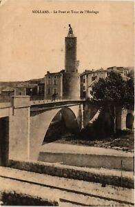 CPA-Mollans-Le-Pont-et-Tour-de-l-039-Horloge-636519