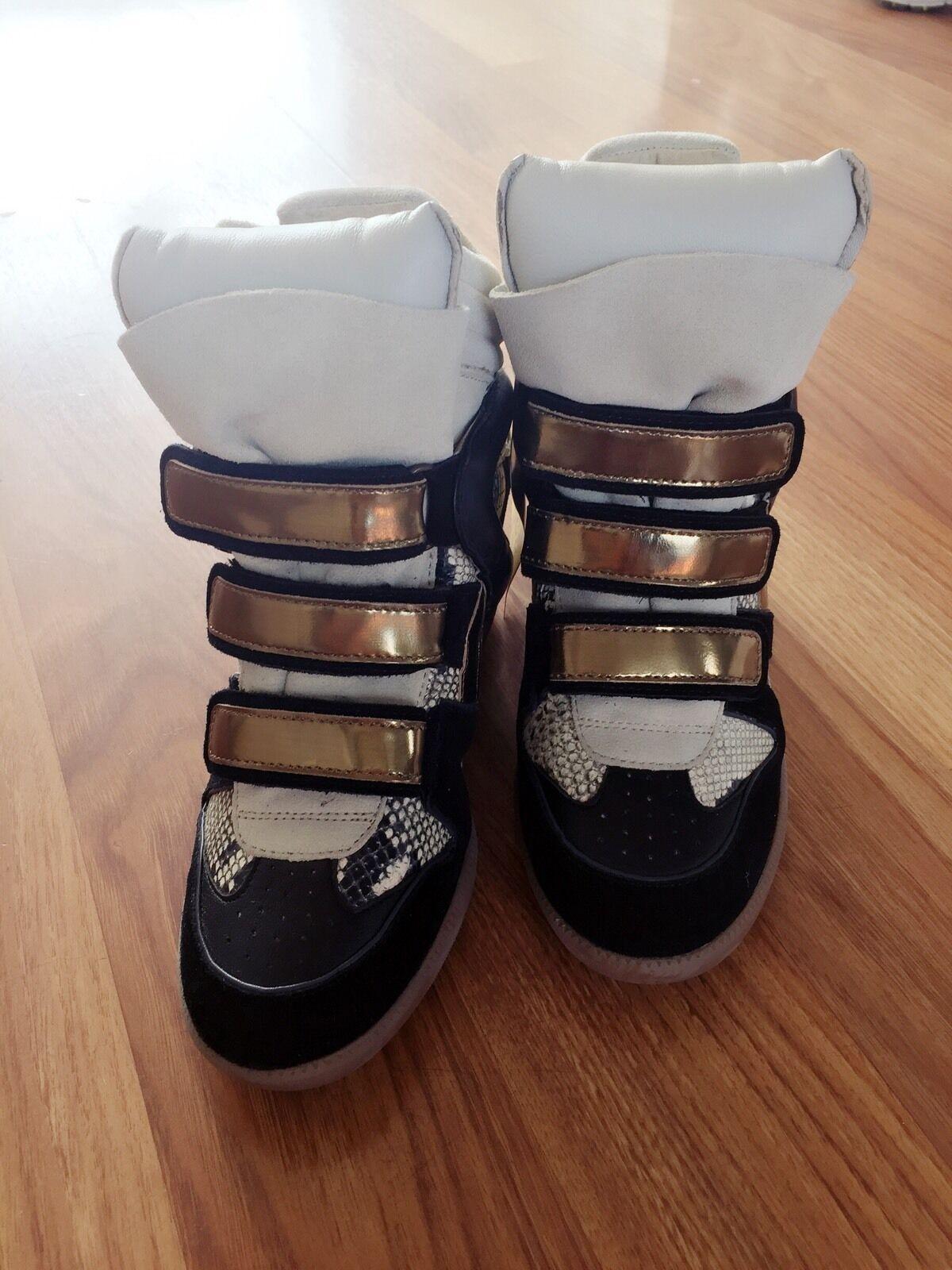 Isabel Marant Etoile Etoile Etoile skor UK Storlek 4  vara i stor efterfrågan