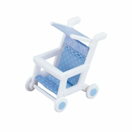 Sylvanian Families and High Chair Sets Two Baby Carriage Single, Double