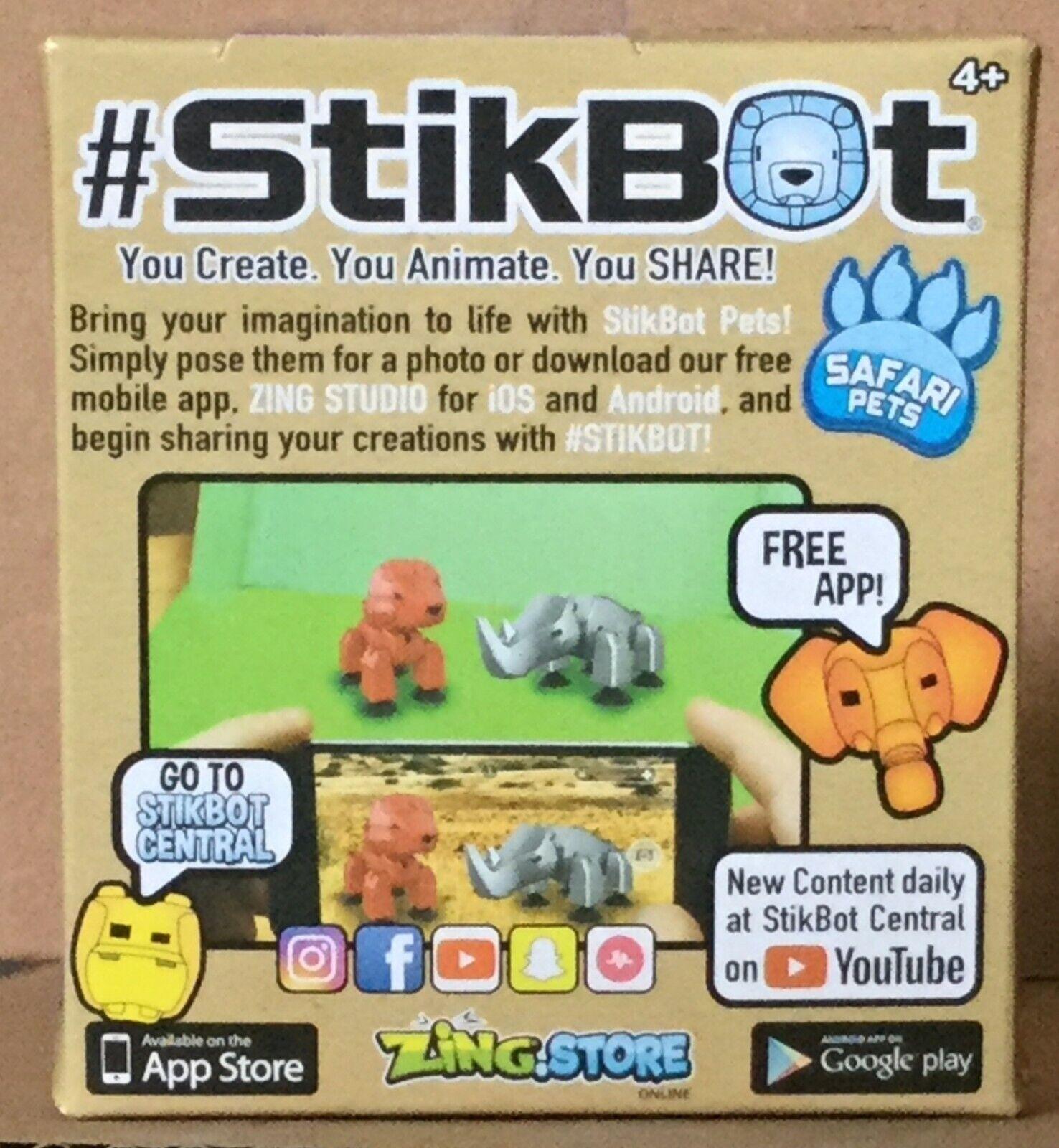 StikBot Safari Pets 1 Random Animal