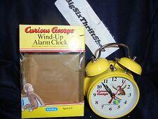 Curious George Wind Up Alarm Clock Schylling