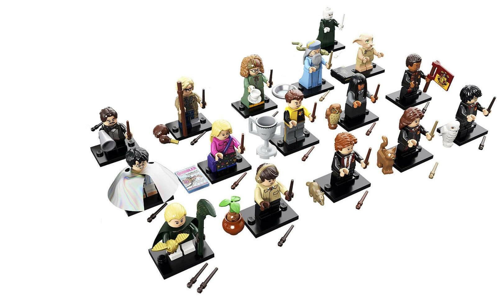 LEGO Harry Potter Collectible Series Minifigures Minifigures Minifigures JK Rowling - Set of 16 (71022) e8ba62