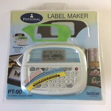 Brother Pt 90 Personal Label Maker Electronic Thermal Printer With Starter M Tape