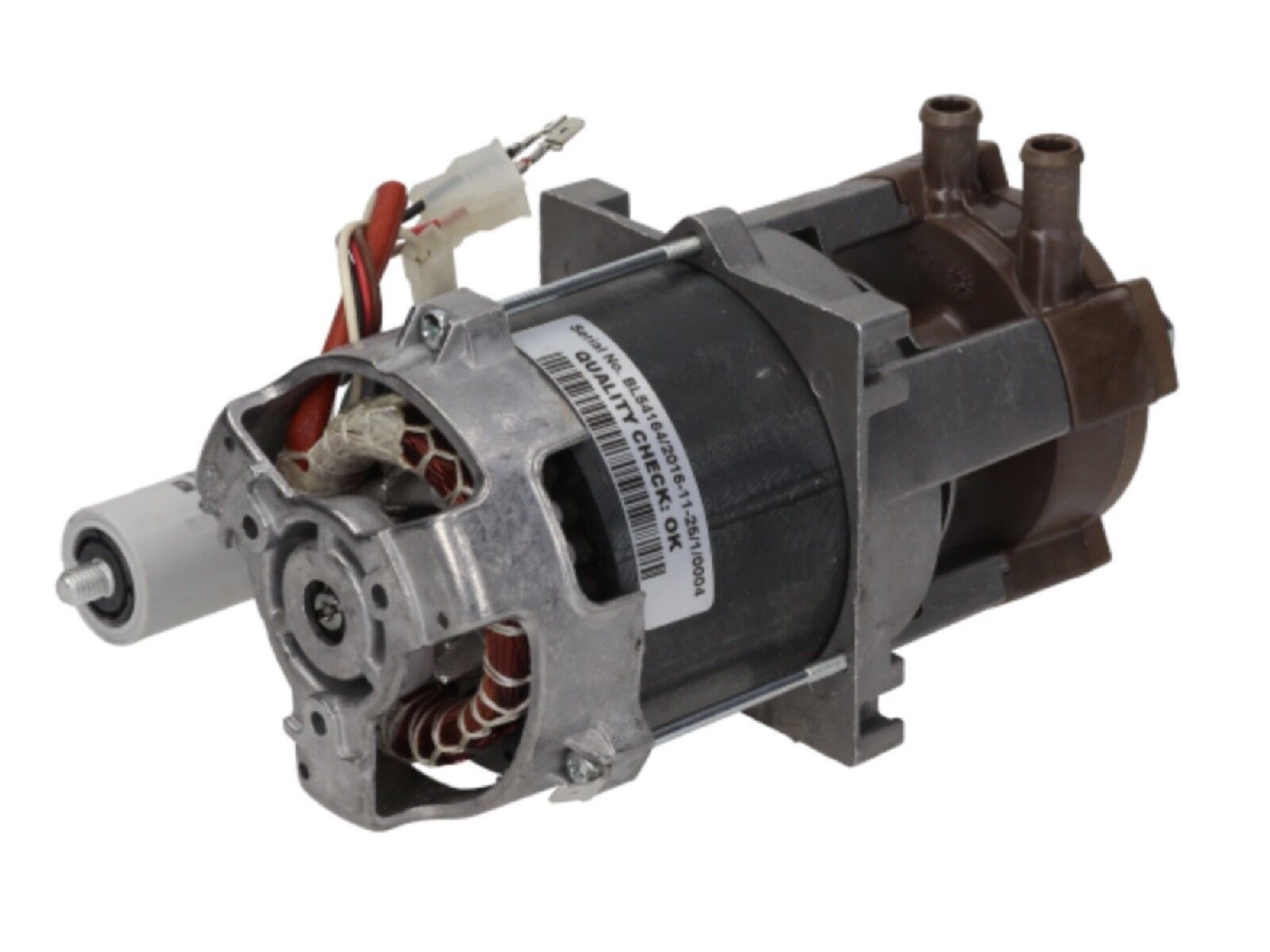 SAMMIC 2304293 SC-1100 Lavastoviglie Risciacquo INTERNO MOTORE POMPA BOOSTER 12 mm IN OUT