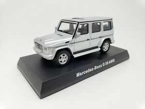 1-64-Kyosho-Mercedes-Benz-AMG-Minicar-Collection-G55-G-Class-Wagon-W463-Silver