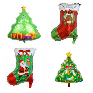 Christmas Tree Balloon.Details About Christmas Stock Foil Balloons Christmas Tree Balloon Xmas Party Decoration Tr