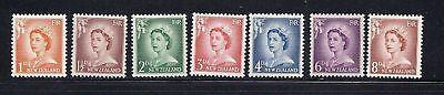 Australien, Ozean. & Antarktis FleißIg Neuseeland 1955-59 Qeii Dauermarken Sc 306-312 Mh