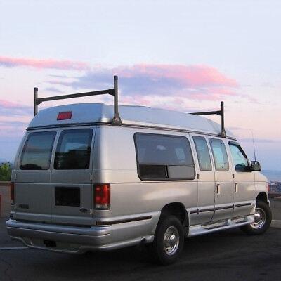 Dodge Conversion Van >> Dodge Ram Conversion Van 2 Bar All Years Ladder Roof Racks Steel Black Rack Ebay