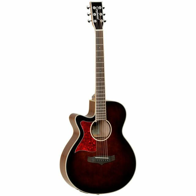 Tanglewood TW4E Winterleaf Folk Electro Acoustic Guitar Whiskey Barrel Burst Gloss