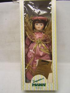 Seymour-Mann-Porcelain-Doll-Angel-Collectors-Guild-COA-EUC-Original-Box