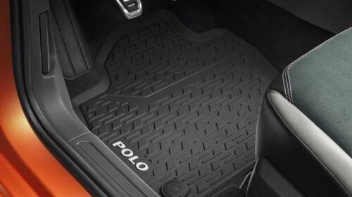 Original VW Polo 7 2G VII Gummimatte Gummifußmatten vorn schwarz 2G1061502  82V