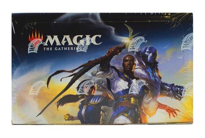Magic mtg dominaria booster kartonfabrik sammeln 2018 + bonus selten folie versiegelt