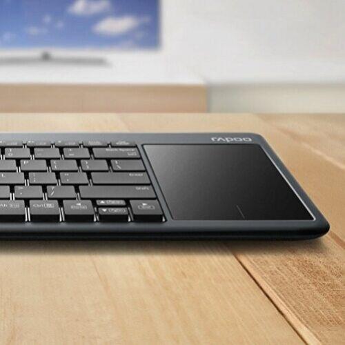 RAPOO K2600 2.4G Wireless Keyboard with TouchPad DEU Layout - QWERTZ