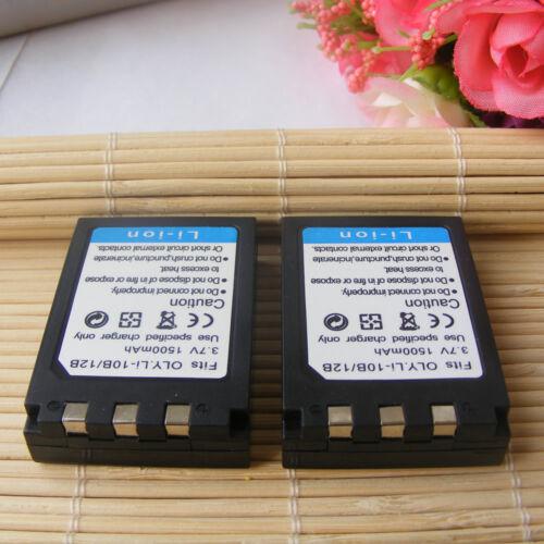 2X Batería Li-10B Li-12B Para Olympus c-770 c-765 c-7000 Cámara