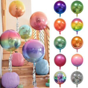 4D-Disco-Balloon-22-Inch-Balloon-Aluminium-Foil-Party-Decor-Gradient-Color