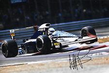 MARTIN BRUNDLE firmato 12x8, F1 BRABHAM-YAMAHA BT60Y. ITALIAN GP MONZA 1991