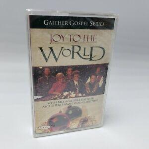Gaither-Gospel-Series-Joy-to-the-World-Christmas-Cassette-Tape-Music-Religious