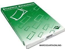 ETICHETTE ADESIVE FORMATO A4 100 FOGLI
