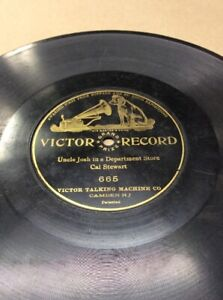 1904-Victor-Record-10-034-78rpm-Josh-In-Department-Store-665-FREE-SHIPPING-B50S23