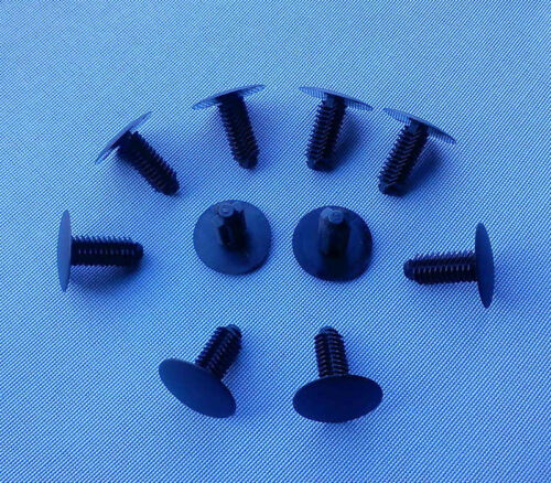 10x Verkleidung Clips Befestigung Klips Halter Universal 9mm schwarz 77B