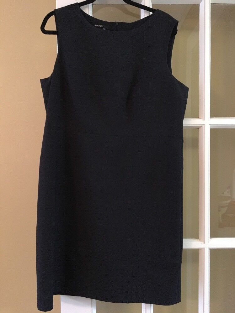 Stunning Marc Aurel Shift Dress Size 44 NAVY
