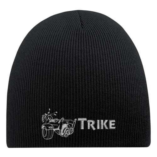 54883 Trike Beanie Hip-Hop Mütze Wollmütze Strickmütze Stickmotiv