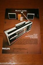 BC9=1972=PHILIPS RADIO REGISTRATORE PORTATILE=PUBBLICITA'=ADVERTISING=WERBUNG=