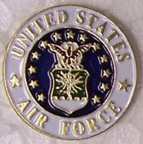 Hat Lapel Push Tie Tac Pin Military USAF U S Air Force Emblem NEW