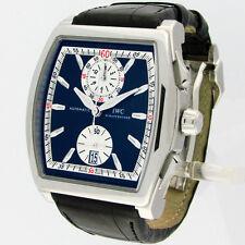 International Watch Co. IWC Da Vinci IW376403 SS Flyback Chronograph Watch B/P