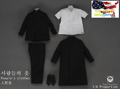 """1//6 Male combat clothes B for 12/"""" Figure pants shirt for hot toys worldbox ❶USA❶"""