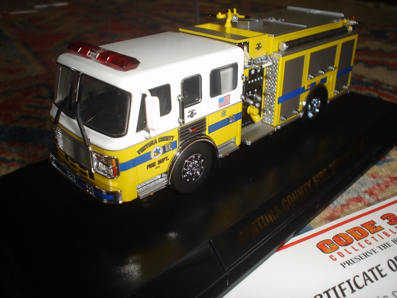CODE 3 – FDNY  – VENTURA COUNTY FIRE DEPT. ALF PUMPER   E-50