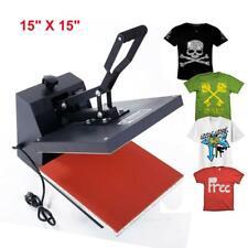 Hot Clamshell Digital Heat Press Machine T Shirt Transfer Sublimation Diy New