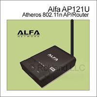Alfa Ap121u Atheros 802.11n Wifi Ap/router (usb Model)