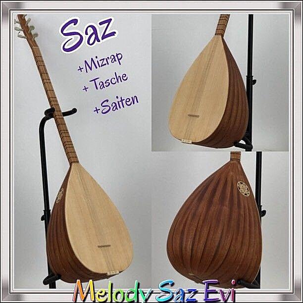 Saz mit Tonabnehmer Und Tasche  mizrap  tembur  Melody Saz