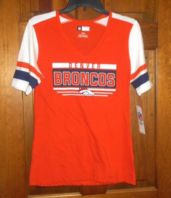 c98a21c2 Denver Broncos Women's T-shirt / Jersey Size Medium NFL Team Apparel S