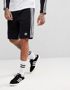 Details zu Adidas Originals CW2980 3 Stripes Short Schwarz 3 Streifen Short Training