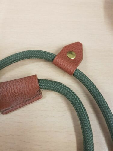 Bisley STANDARD DUTY Rope Dog Slip Lead QUALITY ROPE AND LEATHER BIDLLS
