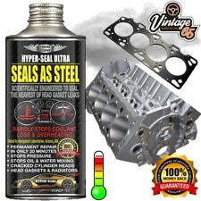 Head Gasket Fix Permanent Cooling System Cracked Block Repair Leak Steel Seal