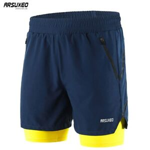 Running-Shorts-Men-2-in-1-Training-Exercise-Jogging-Sports-Shorts-Quick-Dry