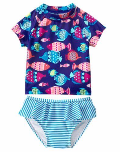 Halterkini Gymboree 2 pc Swimsuit-Tankini NWT 6 12 18 24 2T 3T 4T 5T Retail