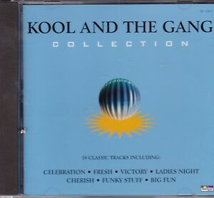 KOOL-AND-THE-GANG-COLLECTION-18-TITRES-1996-CD-TBE