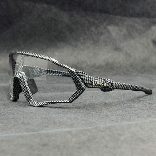 Photochromic Goggles Cycling Sunglasses Sport Road Mountain Bike Glasses+Box