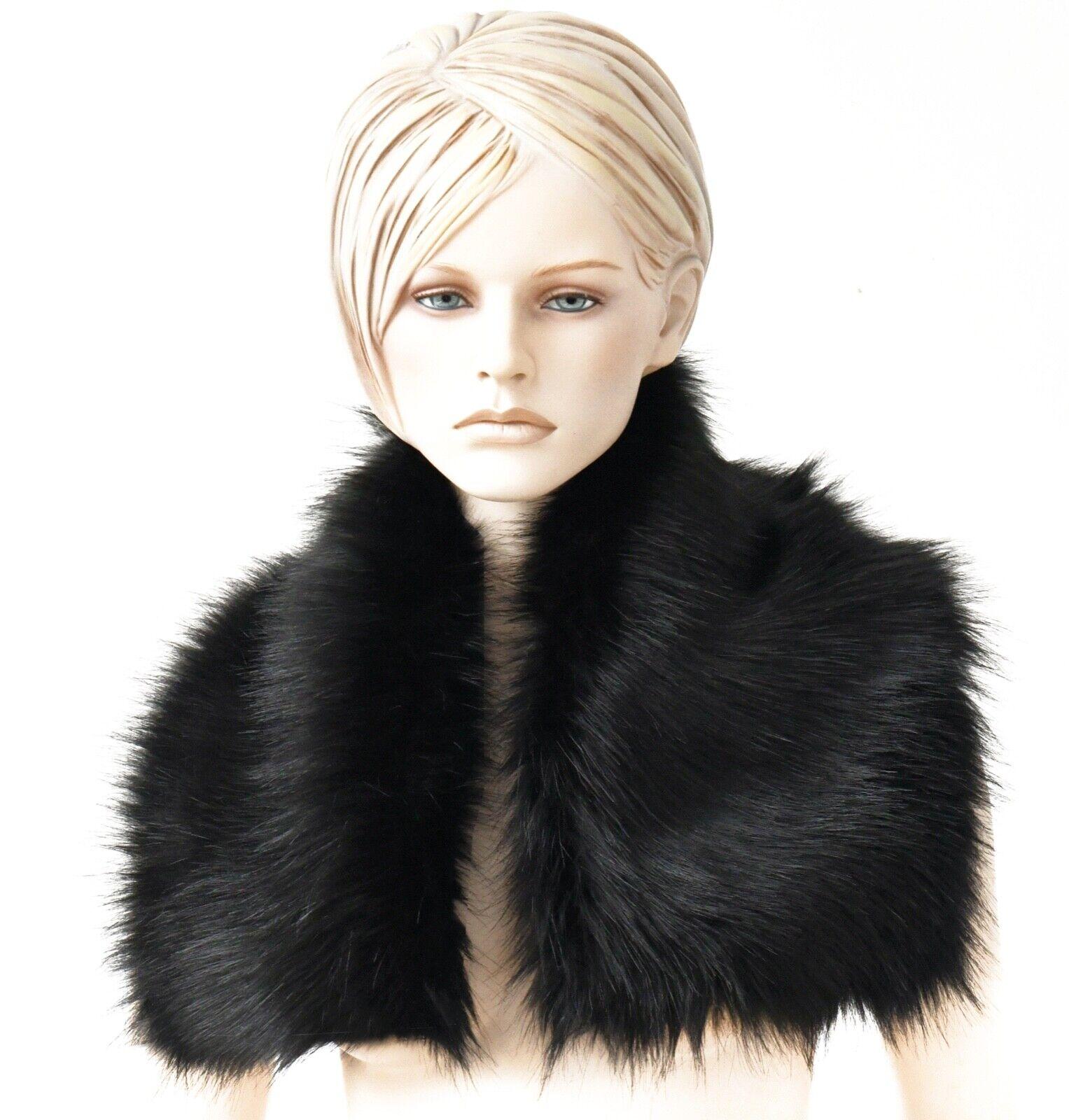 Cuello de pelo, prlzkragen, cuellos, webpelz, piel sintética, faux, Fake, tipo, fur, collar