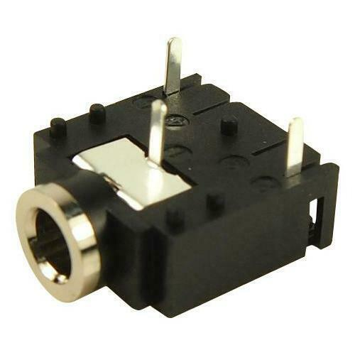 Cliff Electronic Components - FC68131 - Stereo Jack, 3.5mm, 3pos, Pcb