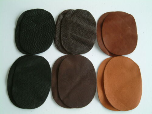 6 variations to choose from One Pair of Leather Elbow// Knee Patches