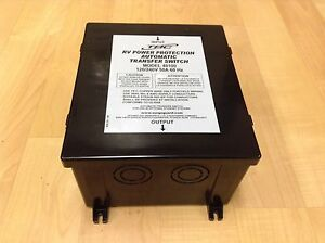 Details about TRC 50 AMP RV AUTOMATIC TRANSFER SWITCH MODEL 40100