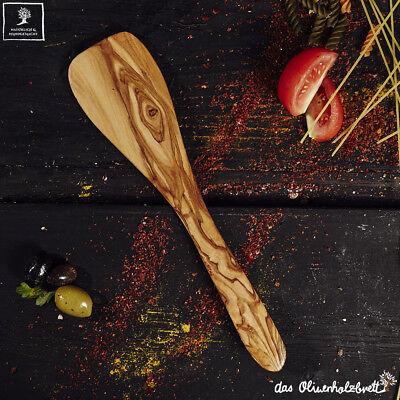 Olive Legno Koch Posate Set 2 Pezzi Pfannenwender E Cuoco Cucchiaio Interamente A Mano 30cm-mostra Il Titolo Originale Pulizia Della Cavità Orale.