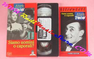 film-VHS-SIAMO-UOMINI-O-CAPORALI-il-grande-cinema-di-toto-039-FABBRI-F95-no-dvd
